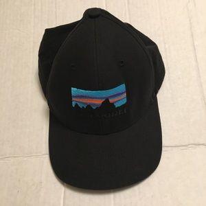 Black Patagonia Logo Hat